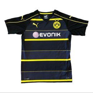 Puma BVB Evonik Dortmund Soccer Jersey